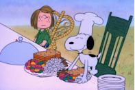 "<p>If watching seasonal flicks with the family is one of your favorite holiday pastimes, you'll definitely remember the first time you saw this classic. Charles Schulz's <em>A Charlie Brown Thanksgiving</em> is arguably the cutest of all <a href=""https://www.goodhousekeeping.com/holidays/thanksgiving-ideas/g2917/thanksgiving-movies/"" rel=""nofollow noopener"" target=""_blank"" data-ylk=""slk:Thanksgiving movies"" class=""link rapid-noclick-resp"">Thanksgiving movies</a><span class=""redactor-invisible-space"">, with sweet lines like, </span>""What if, today, we were grateful for everything?""</p>"