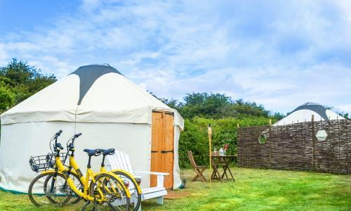Glorious glamping: five of the best new UK sites