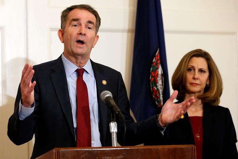 Ralph Northam, with his wife, Pam.
