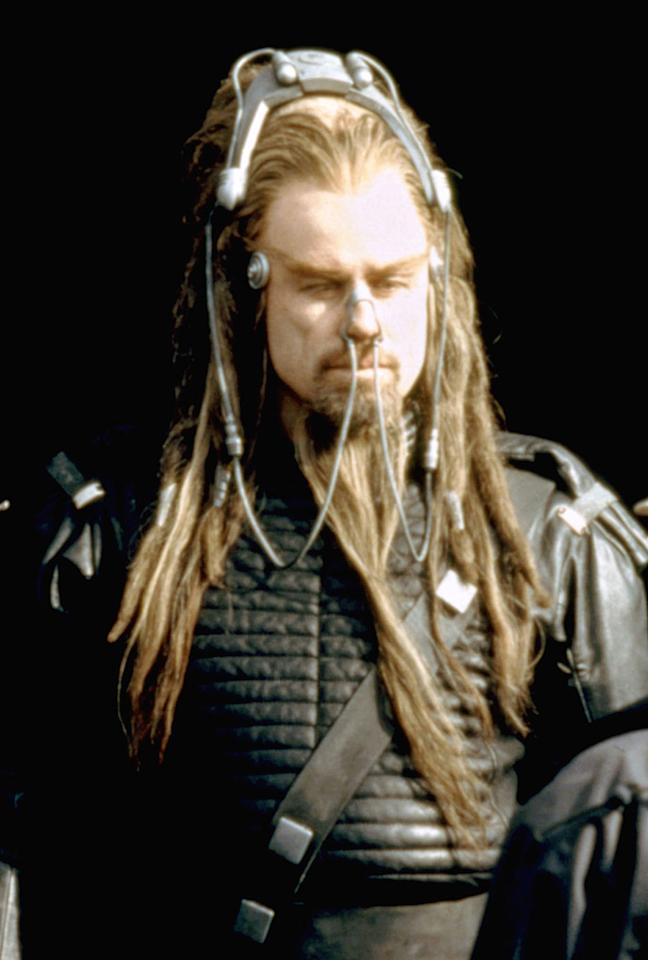 "<a href=""http://movies.yahoo.com/movie/1800353813/info"">BATTLEFIELD EARTH</a> -- The Rasta-terrestrial    On a future Earth enslaved by an evil race of Milli Vanilli impersonators, you can always tell who the alpha alien is by the length of his dread(ful) locks."