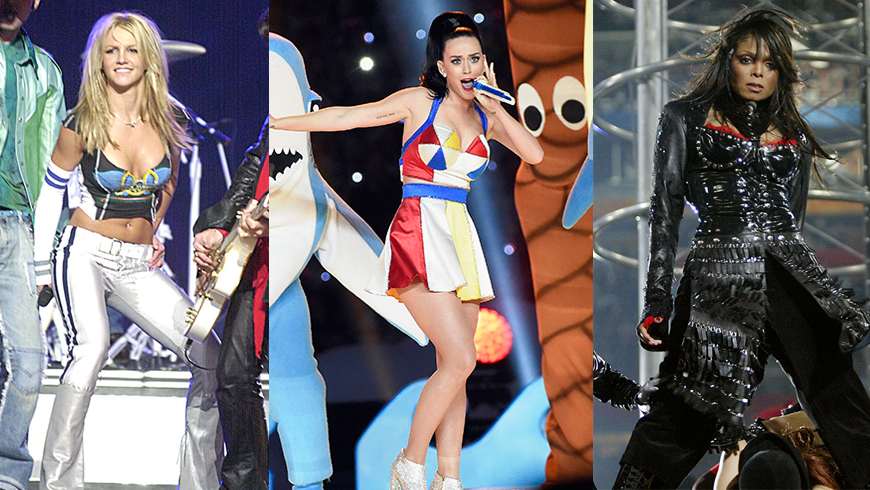 The Most Showstopping Super Bowl Halftime Outfits Ever