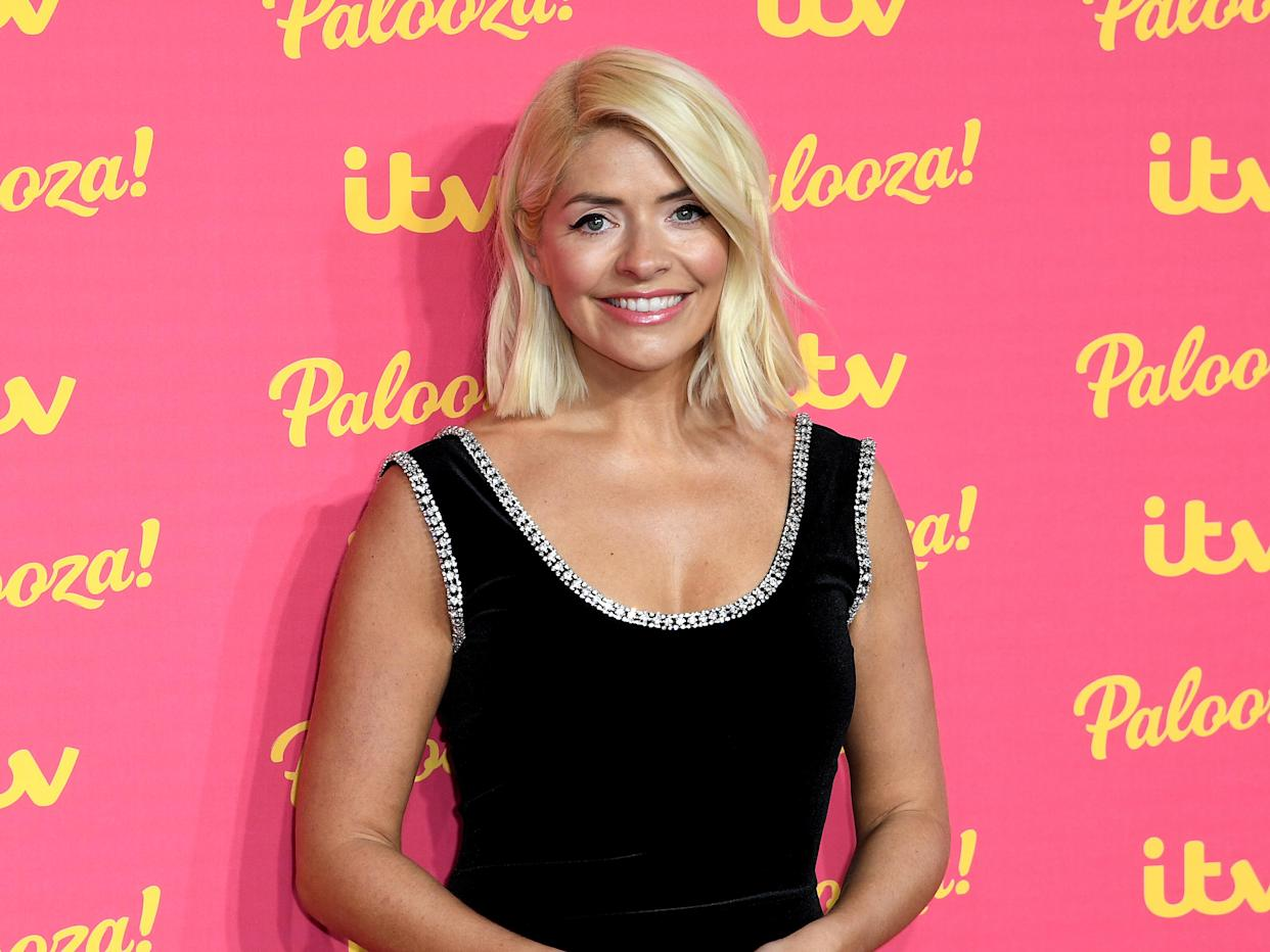Holly Willoughby attending the ITV Palooza held at the Royal Festival Hall, Southbank Centre, London.