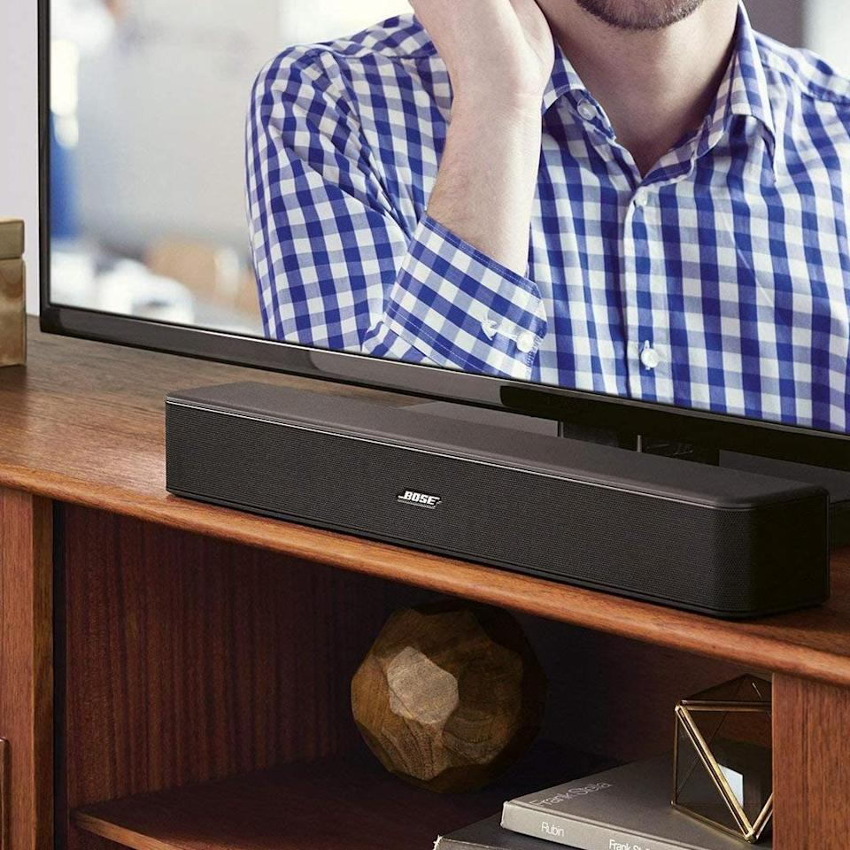 Upgrade your TV's audio and save 20 percent. (Photo: Bose)