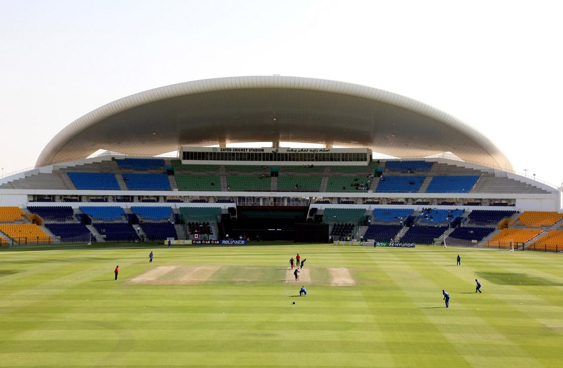 The match between Canada and USA on the opening day of the ICC World Twenty20 Qualifiers at the Zayed Cricket Stadium on November 15, 2013 in Abu Dhabi, United Arab Emirates.  (Photo by Graham Crouch-IDI/IDI via Getty Images)