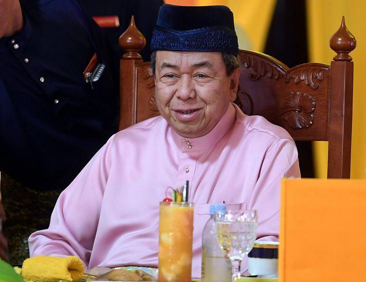 The Selangor Sultan denied today rumours that he would be attending a rally against ICERD. — Bernama pic