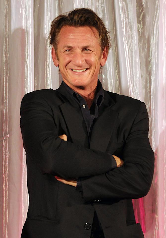 """Keep your fingers crossed that Sean Penn won't get into any paparazzi scuffles on August 17, when he turns the big 5-0! Mark Sullivan/<a href=""""http://www.wireimage.com"""" target=""""new"""">WireImage.com</a> - February 16, 2010"""