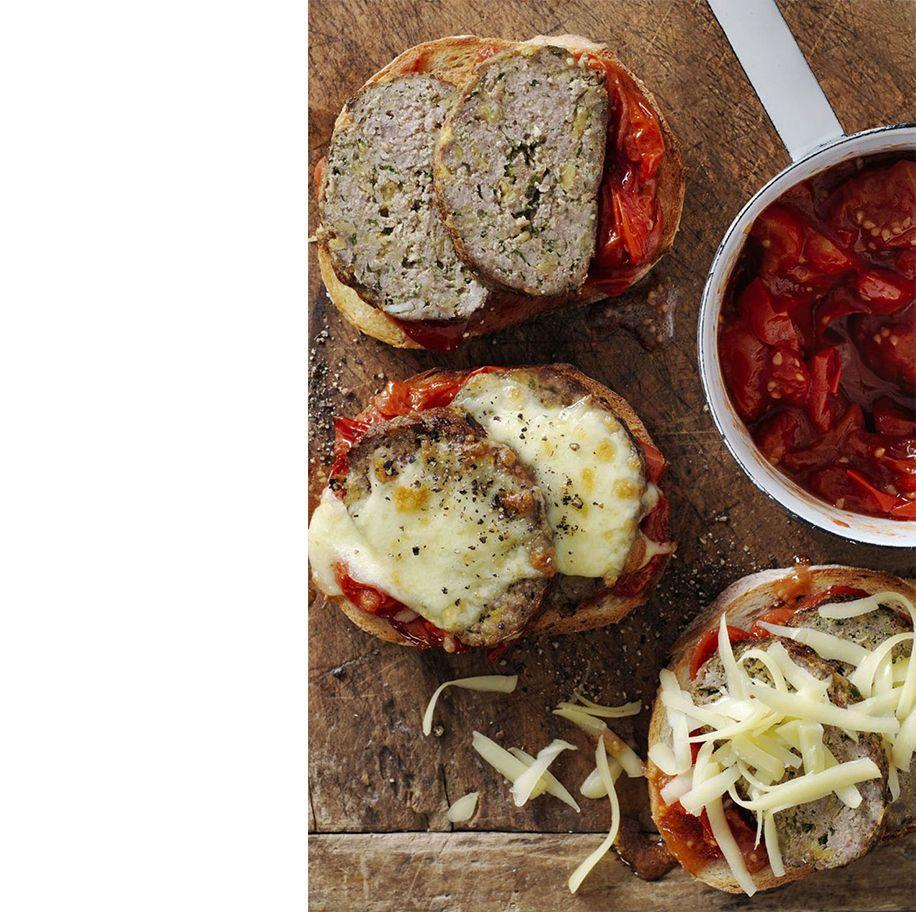 """<p>Transform a classic into finger food sandwiches that everyone in the family can customize with their own veggies, cheese, and sauces.</p><p><em><a href=""""https://www.womansday.com/food-recipes/recipes/a57912/tex-mex-meat-loaf-sandwiches-recipe/"""" rel=""""nofollow noopener"""" target=""""_blank"""" data-ylk=""""slk:Get the Tex Mex Meat Loaf Sandwiches recipes."""" class=""""link rapid-noclick-resp"""">Get the Tex Mex Meat Loaf Sandwiches recipes. </a></em></p>"""