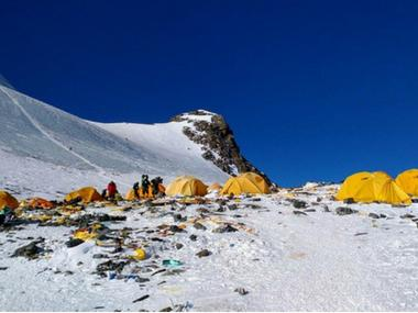 Mount Everest becomes world's highest rubbish dump due to commercial mountaineering; water sources in valleys likely to be affected