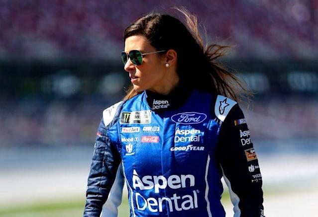 "<a class=""link rapid-noclick-resp"" href=""/nascar/nationwide/drivers/1311"" data-ylk=""slk:Danica Patrick"">Danica Patrick</a> is 31st in the points standings. (Getty)"