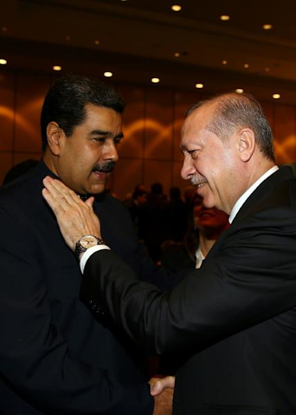 A surprise guest was Venezuela's leftist President Nicolas Maduro, whose country has no significant Muslim population but is a bitter critic of US policy