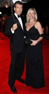 Pierce Brosnan and daughter Charlotte (2006)