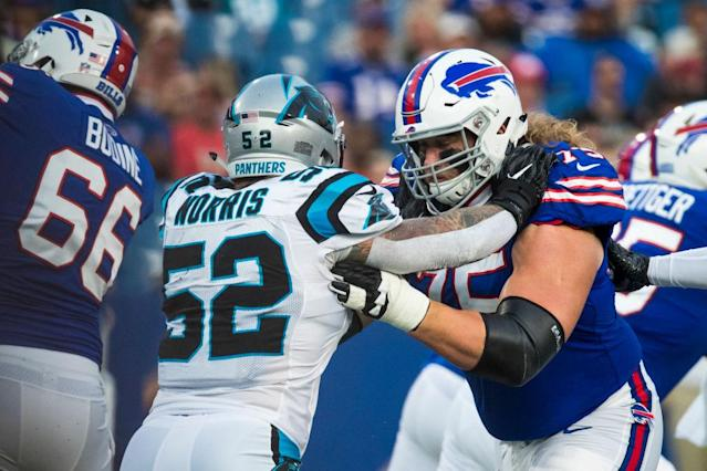 [BN] Blitz newsletter: Focus for Bills linemen is 'mauling the guy out of his stance'
