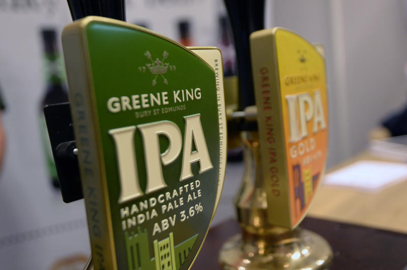 File photo dated 23/10/14 of a Greene King beer tap. The UK pub group and brewer Greene King has agreed a ??2.7 billion sale to Hong Kong real estate giant CKA, the company has announced.