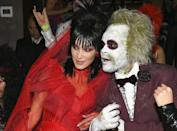 <p>You earned this ring! Model Bella Hadid and singer The Weeknd attended Heidi Klum's 19th Annual Halloween Party at Lavo NYC in 2018 as bride and groom.</p>