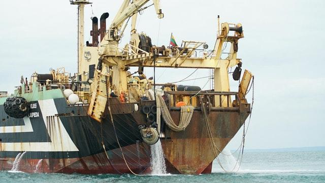 Margiris supertrawler fished in protected zone