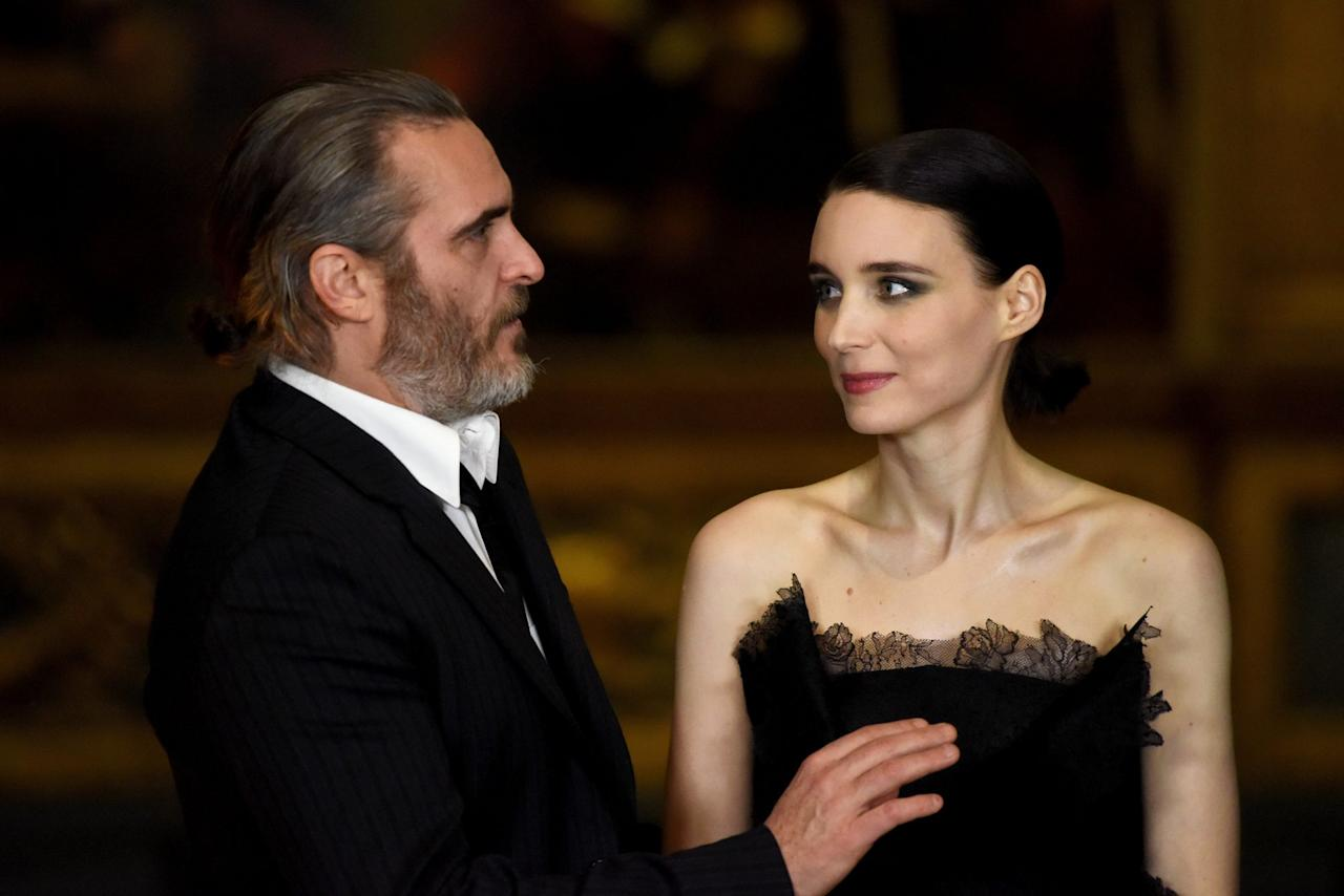 <p>The duo reunited onscreen in 2016 to film <em>Mary Magdalene</em>, with Mara playing the titular role and Phoenix playing Jesus. The film wasn't released until 2019.</p>