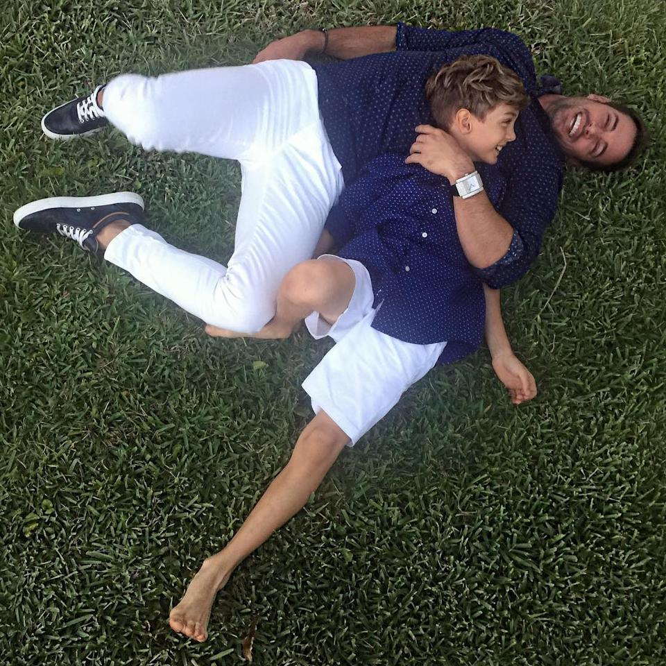 <p>William Levy y su hijo Christopher siempre han sido muy unidos/William Levy/Instagram </p>