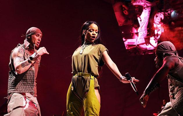 Be watched Rihanna perform on Day One of Made in America Festival in 2016. Photo: Getty
