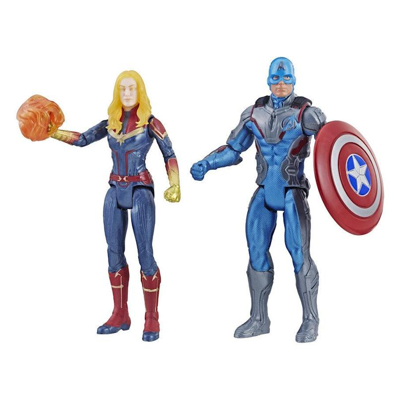 5111b5e59c2f Captain American and Captain Marvel 2-Pack (Photo  Hasbro)