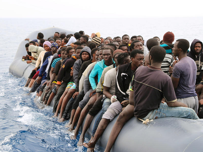 More than 240 refugees were feared drowned in the latest disaster off Libya this week: Getty