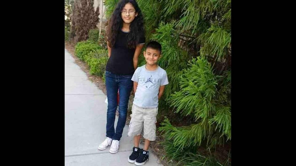 Alexandra Ruiz Diaz, 17, and her 11-year-old brother, Luis Miguel Geronimo Diaz, died in a wreck at a dark Union County intersection on Saturday night, Sept. 25, 2021.