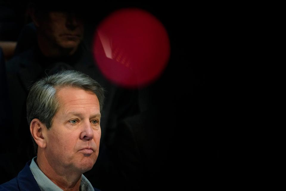 Georgia Gov. Brian Kemp has stood firm against Major League Baseball's decision to pull the 2021 All-Star Game from Atlanta over objections to a new state voting law.