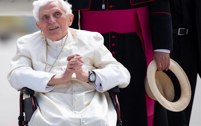 There is speculation that Pope Francis may resign once his predecessor, Benedict XVI, dies - AFP