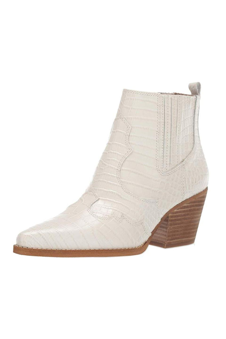 """<p><strong>Sam Edelman</strong></p><p>amazon.com</p><p><strong>$72.00</strong></p><p><a href=""""https://www.amazon.com/dp/B07TPZK3Z3?tag=syn-yahoo-20&ascsubtag=%5Bartid%7C10049.g.13602855%5Bsrc%7Cyahoo-us"""" rel=""""nofollow noopener"""" target=""""_blank"""" data-ylk=""""slk:Shop Now"""" class=""""link rapid-noclick-resp"""">Shop Now</a></p><p>Time to say yee-effing-haw and get 'em these stylish boots that lean way into the Western trend you're seeing everywhere.</p>"""