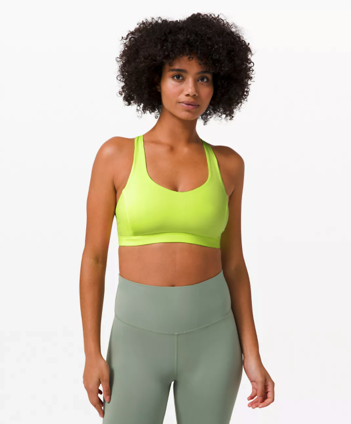 Free To Be Serene Bra. Image via Lululemon.