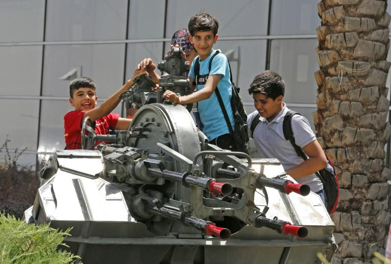 Tehran's Holy Defence Museum glorifies Iranians' immense public mobilisation against the invading forces of Saddam Hussein that saw everyone from children to pensioners sign up and sacrifice themselves as martyrs at the front
