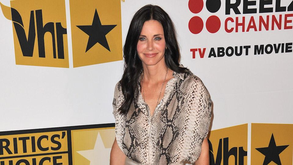 "<p>In 1984, Courteney Cox got her big break when she was featured in Bruce Springsteen's ""Dancing in the Dark"" music video. Of course, she's best known as Monica Geller on ""Friends,"" a role that earned her and her five main co-stars each $1 million per episode by the end of the show's 10-year run in 2004. One of the highest-paid television casts in history, the six performers each earn $20 million per year in residuals, according to People.</p> <p>Cox also is known for her work as Gale Weathers in the ""Scream"" franchise, a role she has played four times and is set to reprise for ""Scream 5."" Additionally, she starred as Jules Cobb on ""Cougar Town,"" which ran from 2009-15.</p> <p>In 1999, Cox married actor David Arquette, but the pair separated in 2010 and divorced in 2012. She's been linked to rocker Johnny McDaid since 2014.</p>"