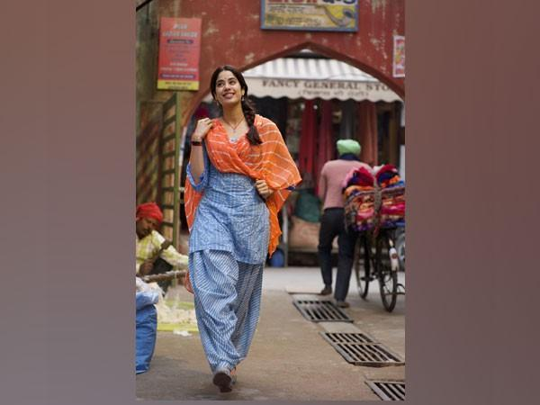Actor Janhvi Kapoor in a shot from film 'Good Luck Jerry' (Image Source: Instagram)
