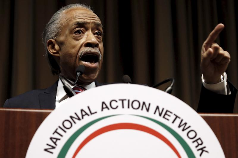 The Rev. Al Sharpton leads the National Action Network, a countrywide nonprofit civil rights organization. (Mike Segar / Reuters)