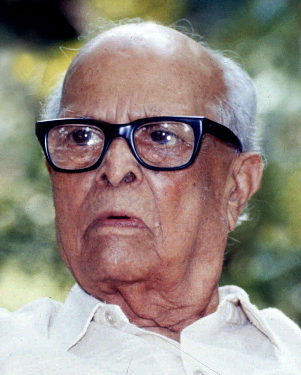 Known for his works set in the fictional South Indian town of Malgudi, Rasipuram Krishnaswami Iyer Narayanaswami, was a leading author of early Indian literature in English. Among the best-received of Narayan's 34 novels are The English Teacher (1945), Waiting for the Mahatma (1955), The Guide (1958) and The Man-Eater of Malgudi (1961). Narayan's greatest achievement was making India accessible to the outside world through his literature.