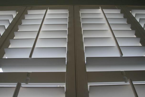 PHOTO: 'Plantation shutters' are featured in a recently-purchased condominium in Arlington, Va., Sept. 17, 2006. (The Washington Post via Getty Images, FILE)