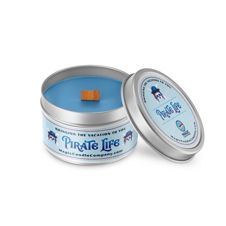 "<p>Set sail for the high seas with this <a href=""https://www.popsugar.com/buy/Pirate-Life-Candle-485600?p_name=Pirate%20Life%20Candle&retailer=magiccandlecompany.com&pid=485600&price=17&evar1=casa%3Aus&evar9=46559536&evar98=https%3A%2F%2Fwww.popsugar.com%2Fhome%2Fphoto-gallery%2F46559536%2Fimage%2F46559539%2FPirates-Caribbean-Inspired-Candle&list1=candles%2Cdisney%2Cdecor%20inspiration&prop13=mobile&pdata=1"" class=""link rapid-noclick-resp"" rel=""nofollow noopener"" target=""_blank"" data-ylk=""slk:Pirate Life Candle"">Pirate Life Candle</a> ($17) that reimagines the classic Pirates of the Caribbean ride with notes of oceanic air, fresh rain, and salty sea breezes.</p>"