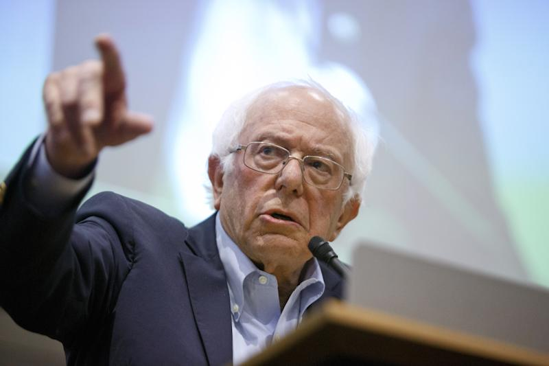 Bernie Sanders Cancels Events After Being Hospitalized for Heart Procedure