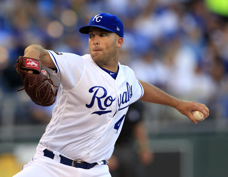 Royals pitcher Danny Duffy cited for DUI