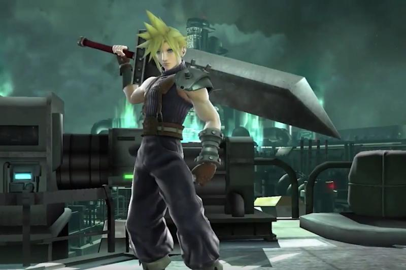 Final Fantasy S Cloud Strife Is Coming To Super Smash Bros