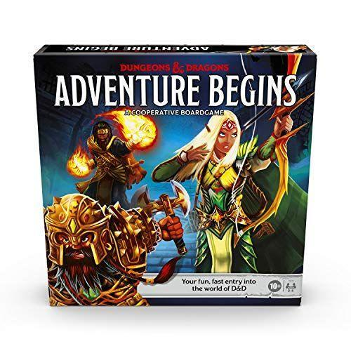 "<p><strong>Hasbro Games</strong></p><p>amazon.com</p><p><strong>$24.86</strong></p><p><a href=""https://www.amazon.com/dp/B083YL5VCY?tag=syn-yahoo-20&ascsubtag=%5Bartid%7C10055.g.4745%5Bsrc%7Cyahoo-us"" rel=""nofollow noopener"" target=""_blank"" data-ylk=""slk:Shop Now"" class=""link rapid-noclick-resp"">Shop Now</a></p><p>For those looking to get into Dungeons & Dragons, the Adventure Begins game offers a shorter, faster gameplay for those just starting out. But the cooperative game still offers all the fantasy adventures that veterans love. (<em>Stranger Things</em> fans can also try <a href=""https://www.amazon.com/dp/B07G5X6N5P?tag=syn-yahoo-20&ascsubtag=%5Bartid%7C10055.g.4745%5Bsrc%7Cyahoo-us"" rel=""nofollow noopener"" target=""_blank"" data-ylk=""slk:the tie-in version"" class=""link rapid-noclick-resp"">the tie-in version</a> of the game.) <em>Ages 10+</em></p><p><strong>RELATED:</strong> <a href=""https://www.goodhousekeeping.com/childrens-products/toy-reviews/g31132135/best-new-toys-2020/"" rel=""nofollow noopener"" target=""_blank"" data-ylk=""slk:These Will Be the Hottest Toys of 2020 — and Kids Will Flip for Them"" class=""link rapid-noclick-resp"">These Will Be the Hottest Toys of 2020 — and Kids Will Flip for Them</a><br></p>"