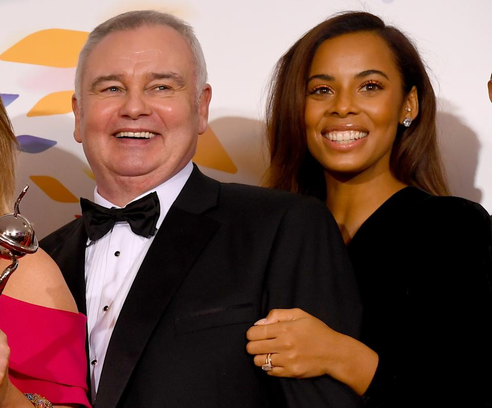 Eamonn Holmes stepped in to replace Vernon Kay and host 'This Morning' with Rochelle Humes. (Getty Images)