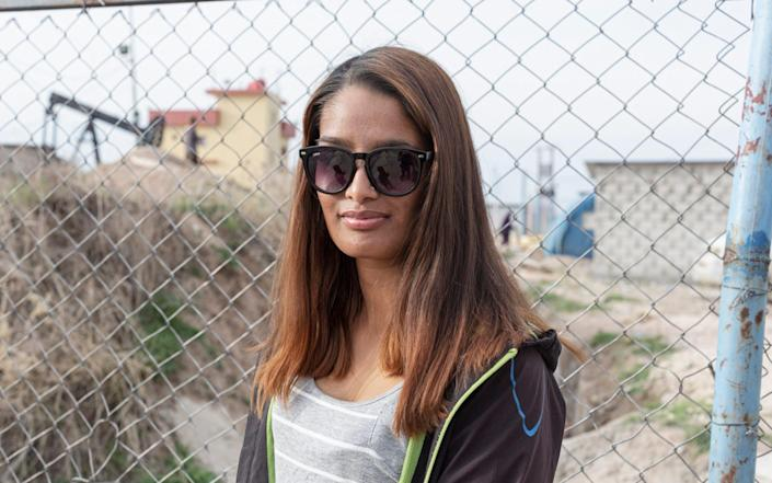 Shamima Begum pictured on March 14, 2021 - Sam Tarling for The Telegraph