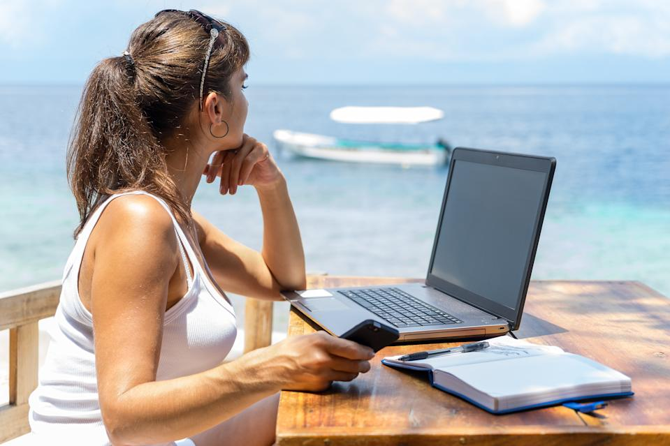 An increasing amount of companies are starting to consider remote work as a more permanent option due to the COVID-19 pandemic. Photo: Getty
