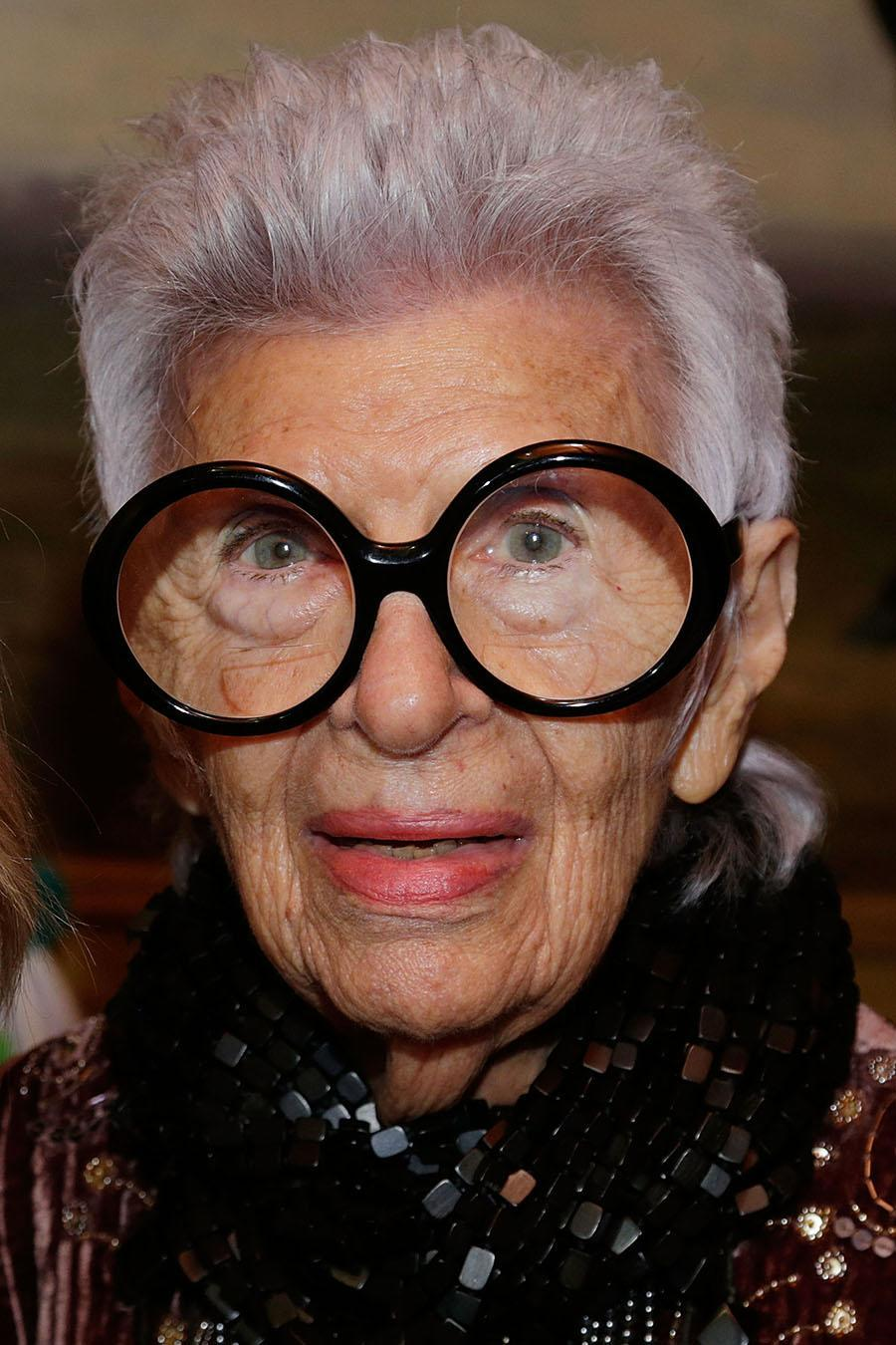 <p>Iris Apfel is proof that the pixie looks good no matter your age. (Photo by Lars Niki/Getty Images for HSN) </p>