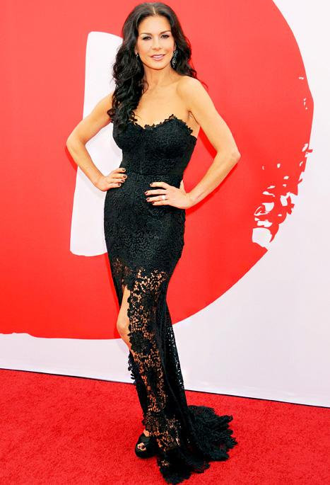 Catherine Zeta-Jones Wows on First Red Carpet After Treatment for Bipolar II: Picture
