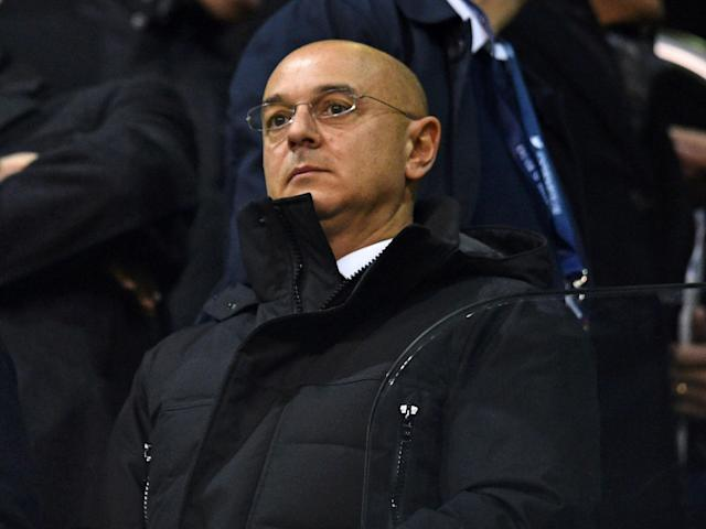 Daniel Levy, the Spurs chairman, is still expected to notify Wembley this week: Getty