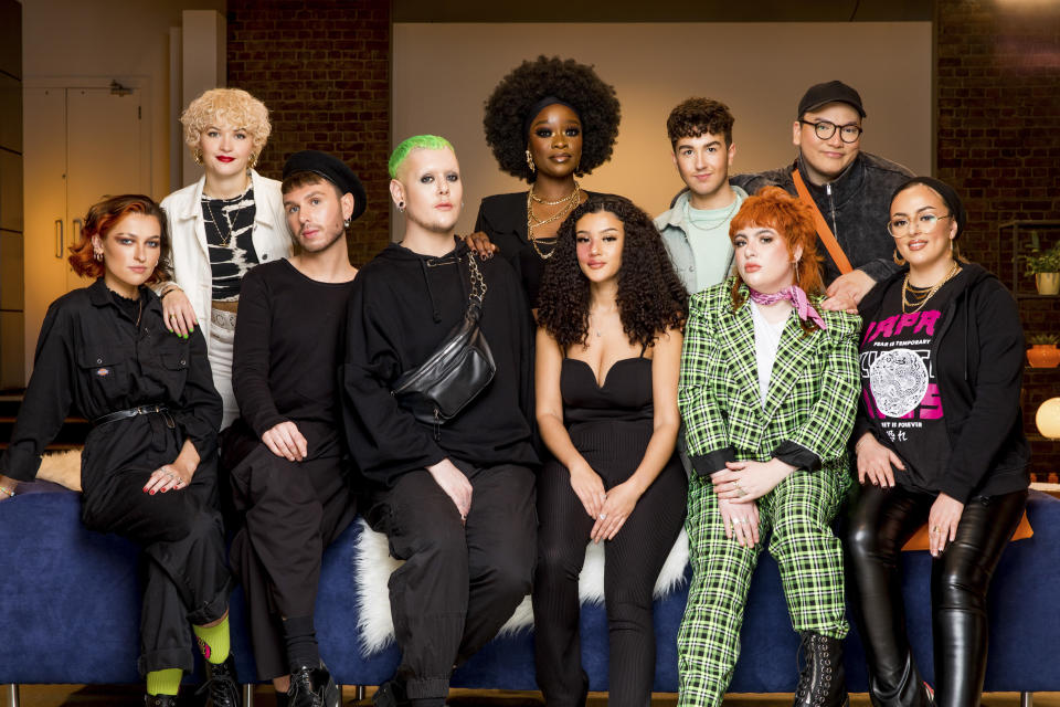 Glow Up series 3 contestants. (BBC / Wall To Wall / Guy Levy)