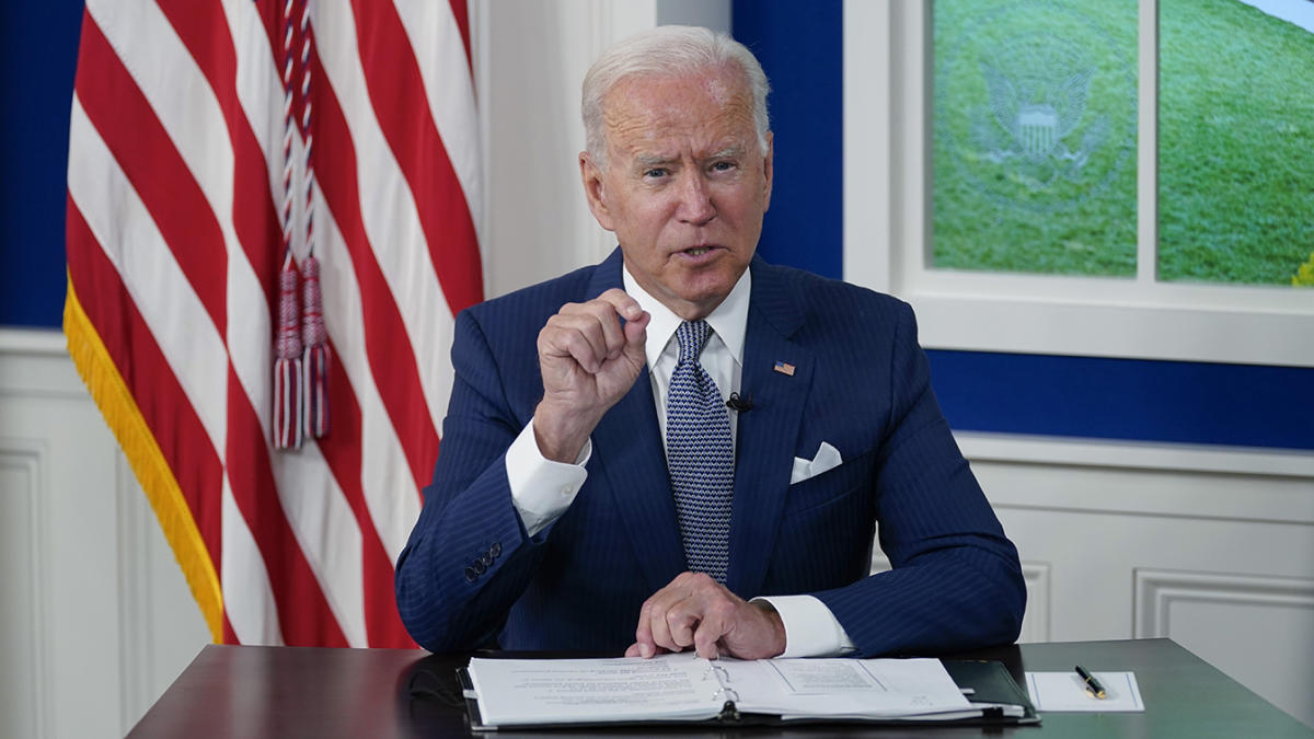 Biden ramps up vaccine diplomacy with promise to provide half a billion doses of Pfizer - Yahoo News