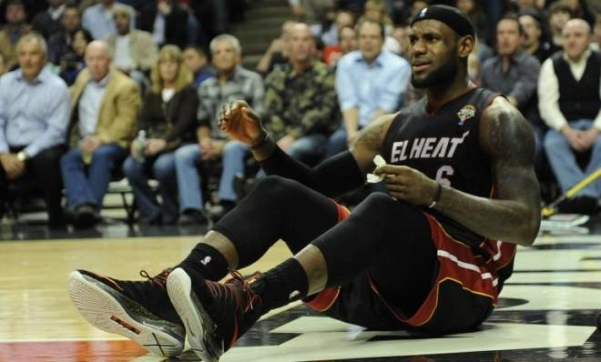 LeBron James and the Heat went down this week — and that may be a good thing.