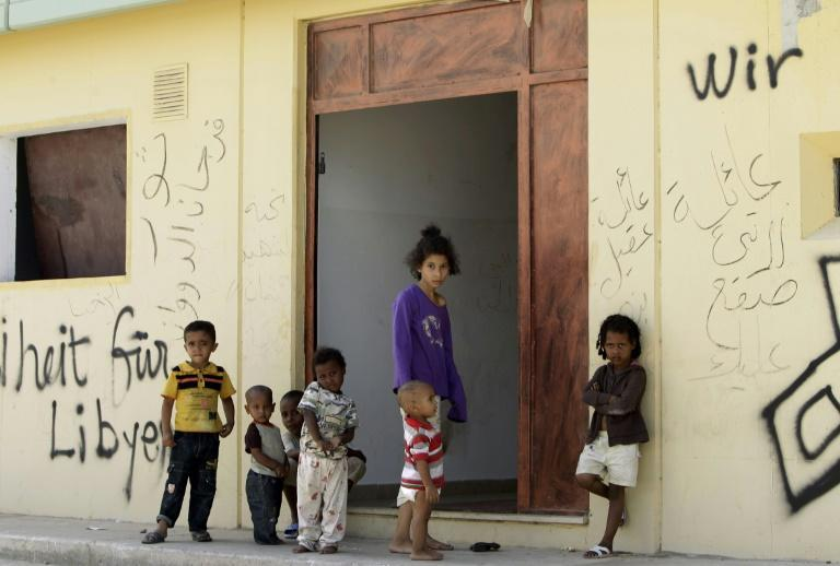 An acute housing shortage in Tripoli has forced many Libyan families to squat in the once-feared Bab al-Aziziya compound where Kadhafi lived and ruled during his 40-year dictatorship